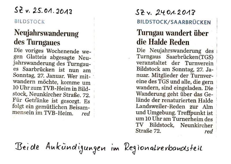 Wanderung Turngau.Saarbrücken